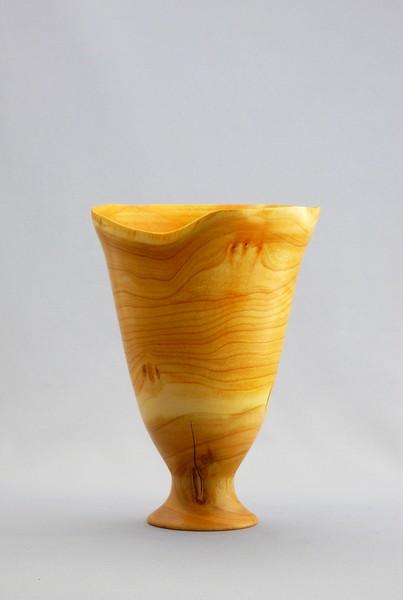 9 Inch Cherry Endgrain Vase
