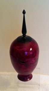 Purple Hollow Form